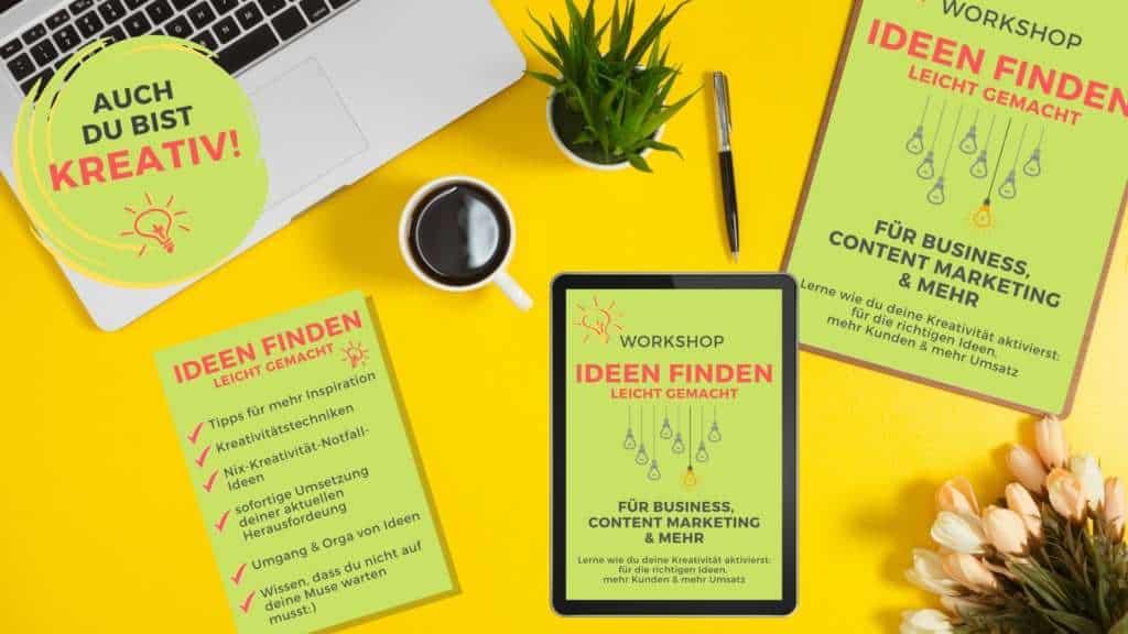 Ideen finden Kreativität fördern orkshop Nadine Kelm Virtuelle Assistenz