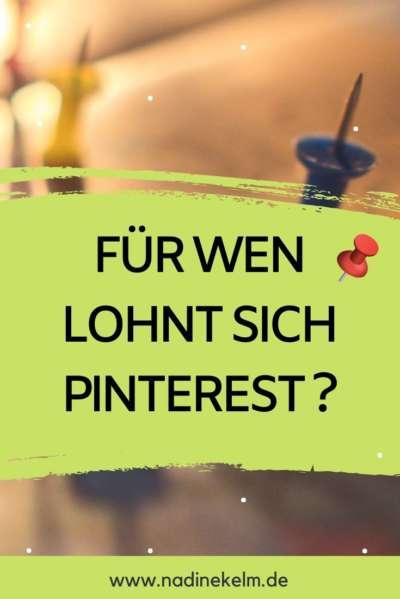 Pinterest Marketing für deine NIsche - Pinterest VA Nadine Kelm